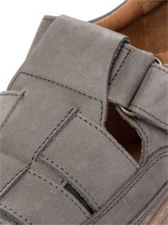 Komfort-Bäcker-Schuh Khaki Detail 4