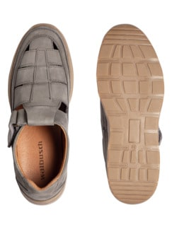 Komfort-Bäcker-Schuh Khaki Detail 2