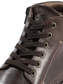 Bequem-Stiefel Dunkelbraun Detail 4