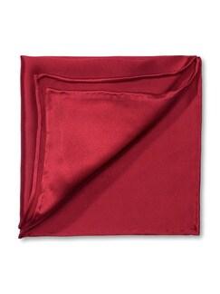 Seideneinstecktuch Rot Detail 1