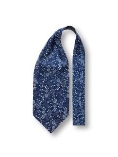 Krawattenschal Blaudruck Detail 1