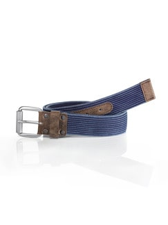 Cotton-Belt Jeansblau Detail 1