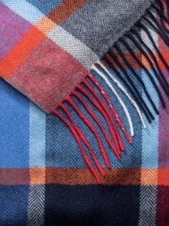 Woll-Kaschmirschal Multicolor Detail 3