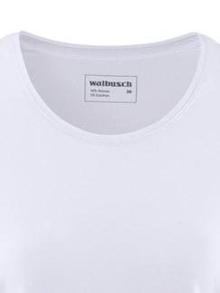 Viskose-Shirt Weiß Detail 4