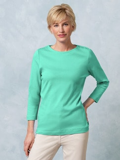 Shirt Soft Ripp Mint Detail 1