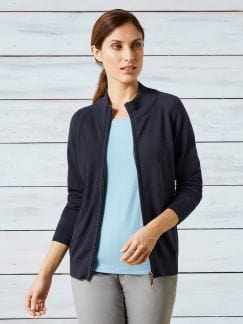 Zippcardigan Pima-Cotton