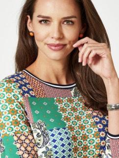 Blouson-Shirt Lissabon Grasgrün Multicolor Detail 4