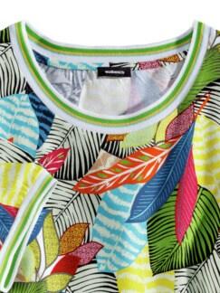 T-Shirt Tropenwald Multicolor Detail 3
