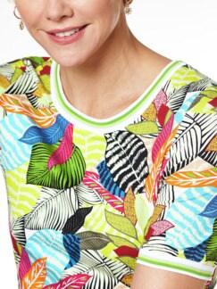 T-Shirt Tropenwald Multicolor Detail 4