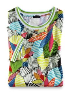 T-Shirt Tropenwald Multicolor Detail 2