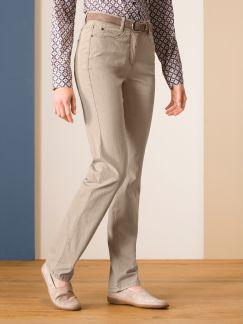 Passform-Jeans Slim Fit Sand Detail 1