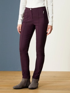 Softbundhose Thermostretch Burgund Detail 1