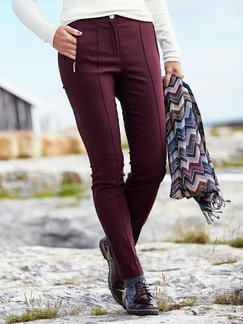 Softbundhose Thermostretch Burgund Detail 2