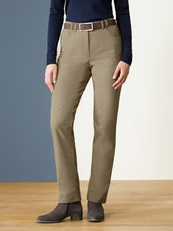 Thermohose Easycare Dunkelbeige Detail 1