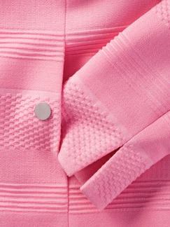 Jacquard-Jersey-Blazer Pink Detail 4
