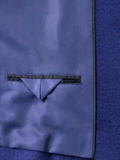 Reißverschluß-Kochwollblazer Ultramarin Detail 4