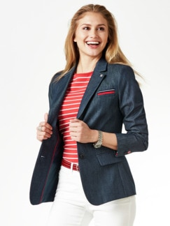 Denimblazer Supersoft Marine Detail 1