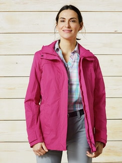 Klepper Jacke Aquastop Soft Fuchsia Detail 1