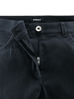 Extraglatt-Hose Mariposa Slim Fit Marine Detail 4