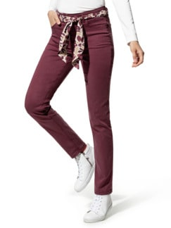 Powerstretchhose Softtouch Marsala Detail 1