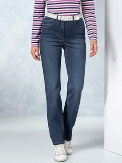Husky-Jeans Light Dark Blue Detail 1
