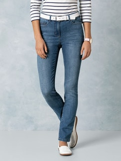 Push up Jeans Mid Blue Detail 1