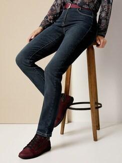 Cashmere Jeans Dark Blue Detail 1