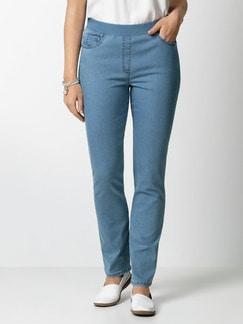 Raphaela by Brax Dynamic Jeans Hellblau Detail 1