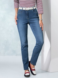 Skinny Jeans Mid Blue Detail 1