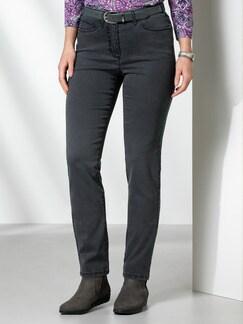 Passform Jeans Regular Fit Grey Detail 1