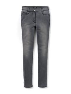 Skinny Jeans Grey Detail 2