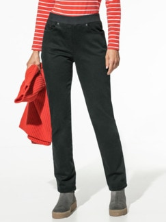 Raphaela by Brax Thermo Jeans Black Detail 1