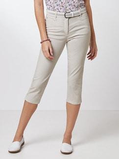 Capri Yoga-Jeans Sand Detail 1