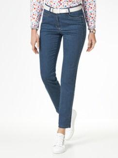 Extraglatt- Jeans Blue Stoned Detail 1