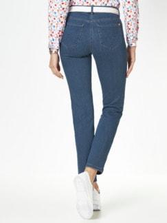 Extraglatt- Jeans Blue Stoned Detail 3