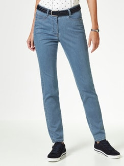 Extraglatt- Jeans Medium Blue Detail 1