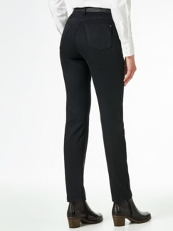Yoga-Jeans Ultraplus Slim Fit Black Detail 3
