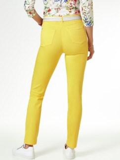 Yoga Jeans Ultraplus Sonnengelb Detail 3