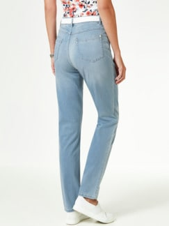Powerstretch Jeans Blue Bleached Detail 3