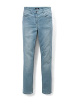 Powerstretch Jeans Blue Bleached Detail 2
