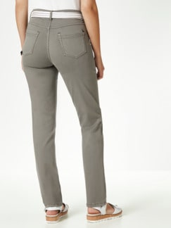 Powerstretch Jeans Khaki Detail 3
