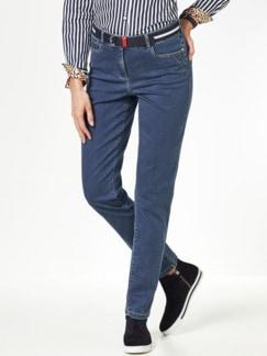 Gürtel- Jeans Medium Blue Detail 1