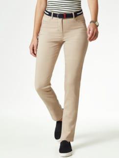 Gürtel- Jeans Saharabeige Detail 1