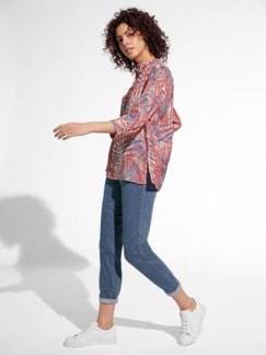 Candiani Jeans Blue Stoned Detail 2