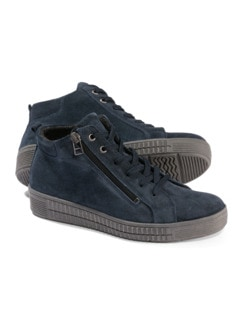 City Sneaker High Top Marine Detail 1