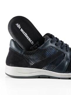 Bequem-Sneaker Blau Detail 4