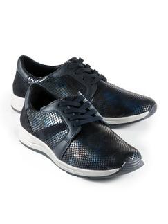 Bequem-Sneaker Blau Detail 1