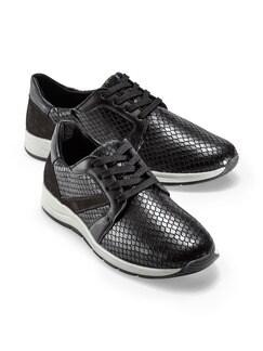 Bequem-Sneaker Schwarz Detail 1
