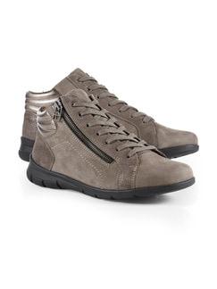 Comfort Kuschel-Sneaker Taupe Detail 1