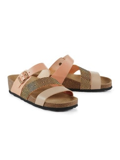 Comfort-Sandale Beige Detail 1
